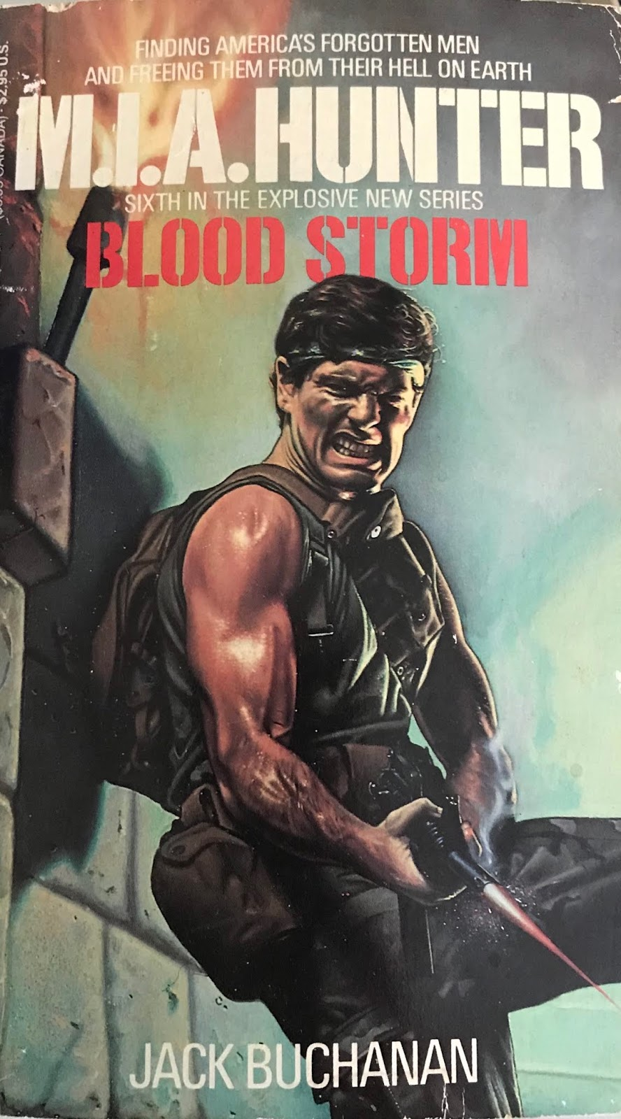 Author William Fieldhouse utilized pseudonyms like Chuck Bainbridge and  John Lansing for the action series' 'Hard Corps' and 'Black Eagles'.