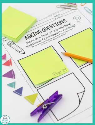 questioning graphic organizer