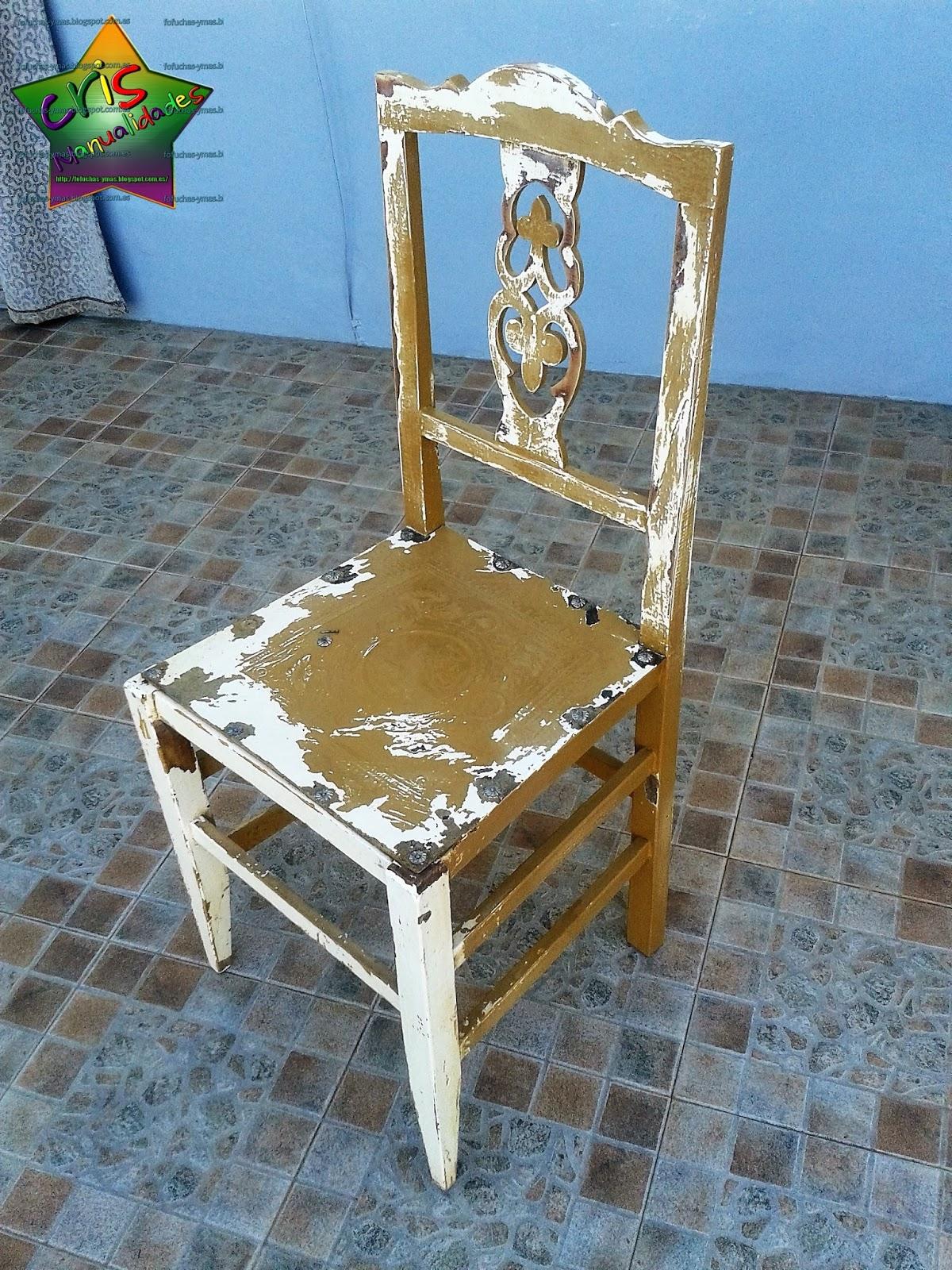 CrisManualidades: Restauración de dormitorio 3: Las sillas