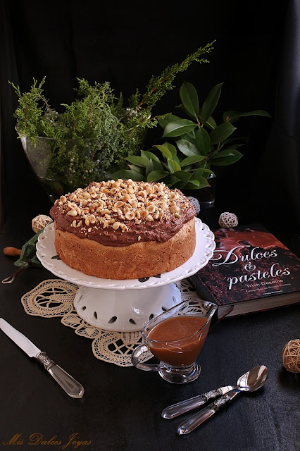 bizcocho-de-avellanas-y-chocolate, hazelnut-chocolate-cake