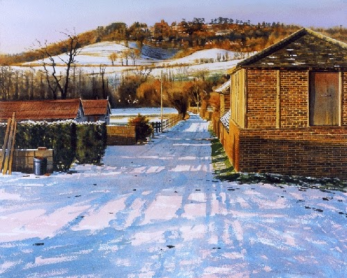 08-Lockner-Farm-Joe-Francis-Dowden-Photo-Realistic-Watercolour-Paintings-www-designstack-co