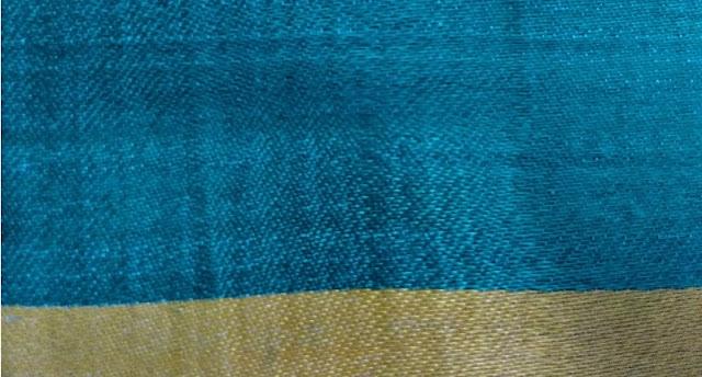 Satin fabric weave