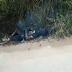 VÍDEO: Corpo em chamas é encontrado próximo a Usina em Pombos