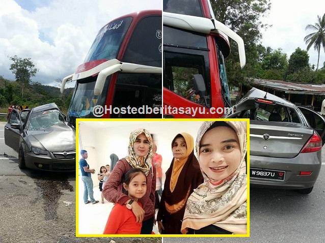 Perjalanan melawat ibu sakit diHospital Kuala Krai dari KL .. Hazli Suzana maut kemalangan (8 Gambar)