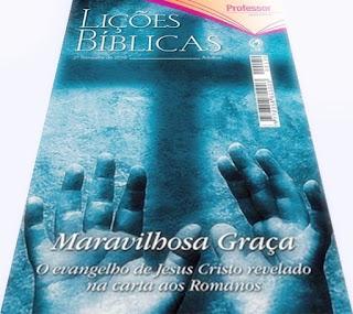 EBD - Lições Bíblicas - Adultos: Maravilhosa Graça: o evangelho de Jesus Cristo revelado na carta aos Romanos José Gonçalves (CPAD) Lição 6. A Lei, a Carne e-o Espírito