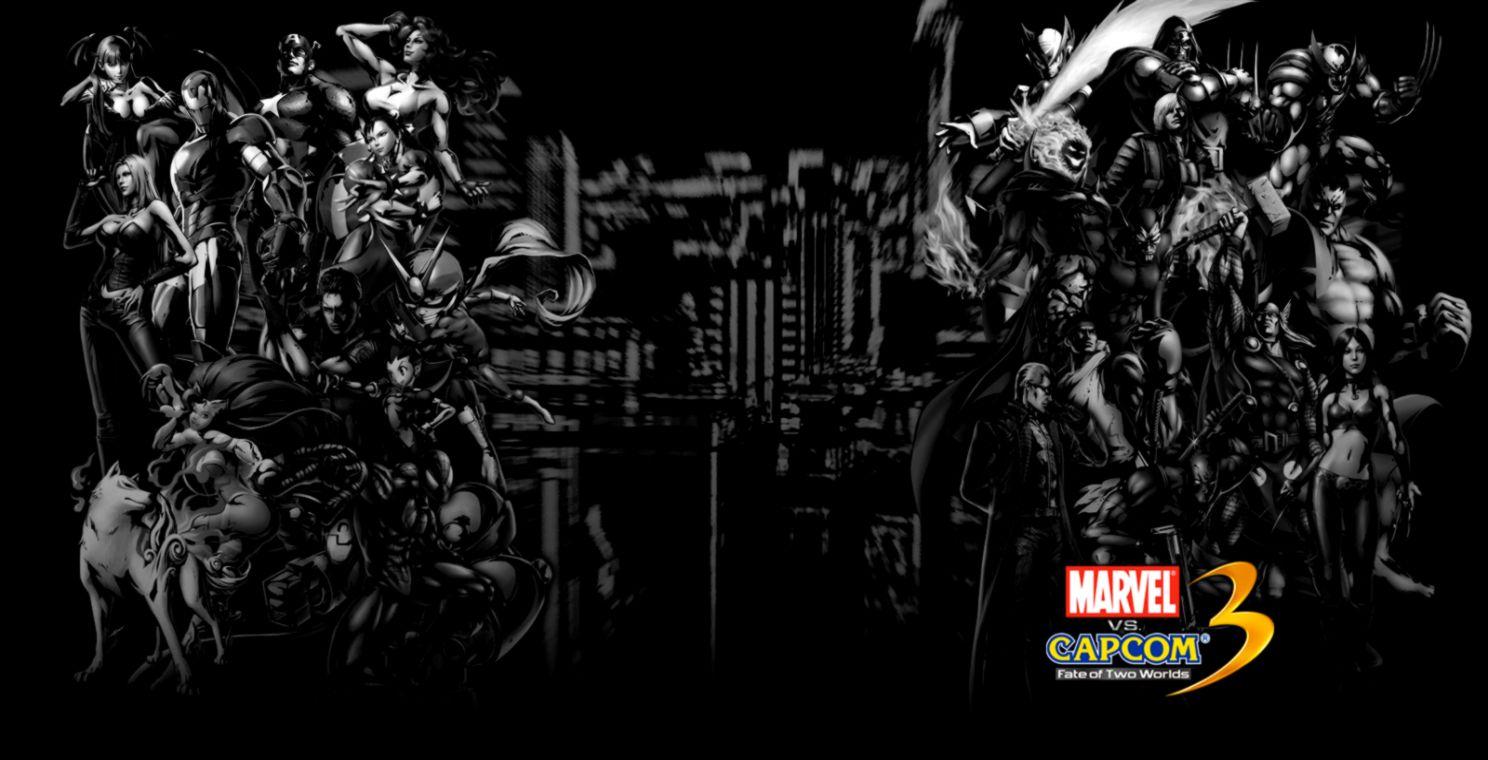 Marvel Vs Capcom 3 Wallpaper Wallpapers Savage