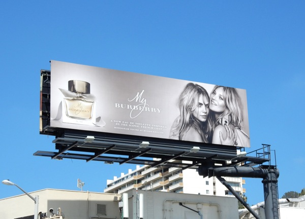 My Burberry 2015 fragrance billboard