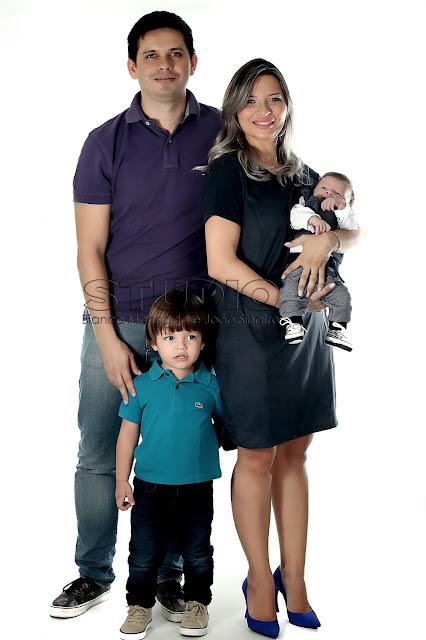 fotos de familia em estudio