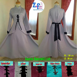 gamis balotelli umbrella polos list