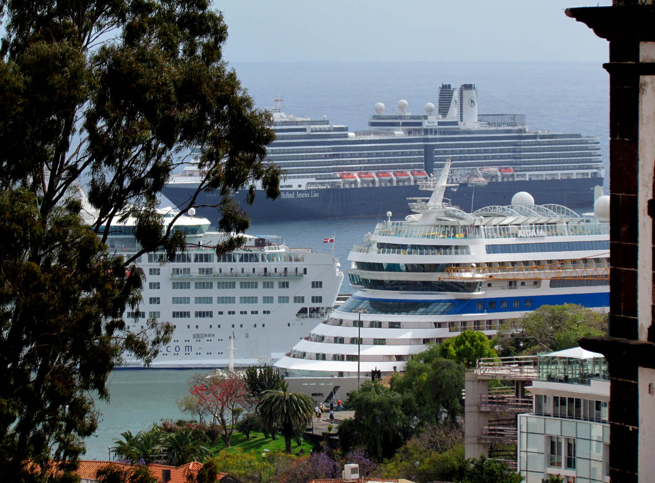 a big day in Funchal port