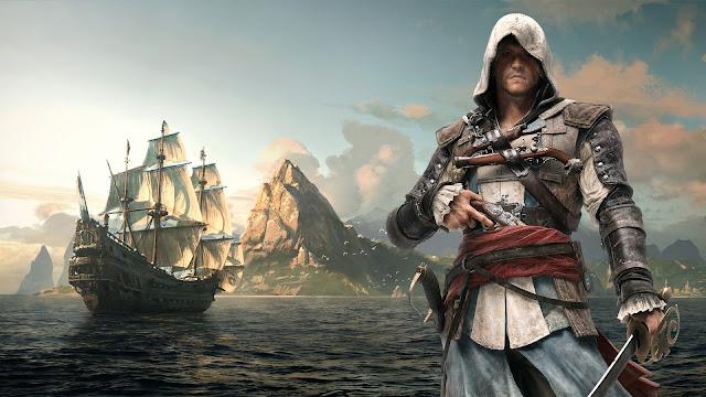 Assassin's Creed IV: Black Flag Melhores jogos de mundo aberto para Xbox 360 e PS3