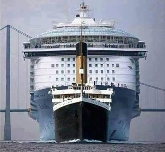 QCQ      -      QualquerCoisaQui: Titanic Versus Allure of the Seas