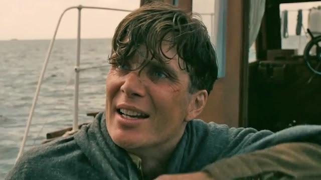 Un marin en état de choc (Cillian Murphy) dans Dunkerque
