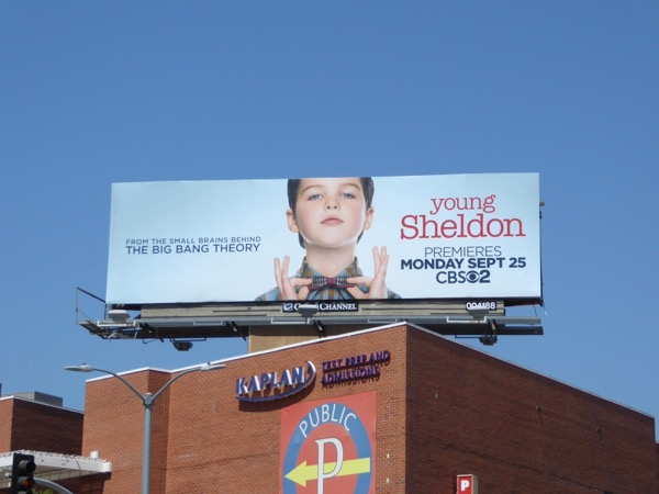 Young Sheldon billboard