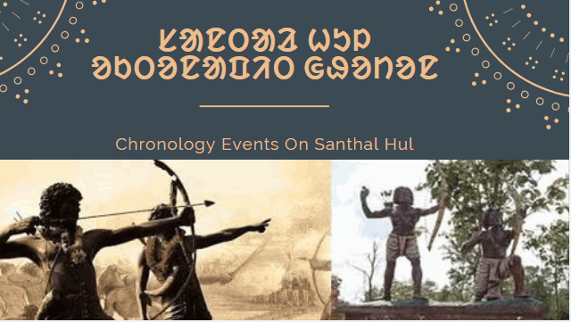 Chronology Events On Santhal Hul (Santhal Rebellion)