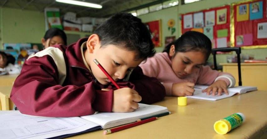 MINEDU propone uniformizar escala de calificación basada en las competencias de los estudiantes (R. VM. N° 025-2019-MINEDU)