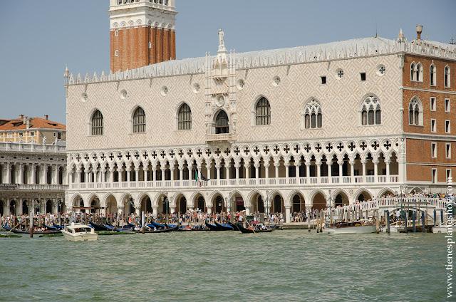 Venecia Palacio Ducal Italia organizar viaje planes