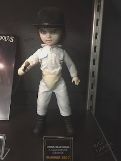 Toy Fair 2017: Mezco's Horror Toys Living Dead Dolls Clockwork Orange
