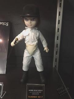 Toy Fair 2017: Mezco's Horror Toys Living Dead Dolls Clockwork Orange