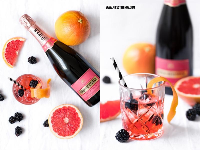 Piper Heidsieck Rosé Sauvege Cocktail Drink Rezept Sacré Sauvage