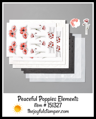 Stampin' Up! Peaceful Poppies Elements | Nicole Steele The Joyful Stamper