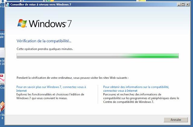 voir si votre ordinateur est pret pour windows 7 avant mise a jour windows 10