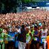 """""""Este gobierno va a caer"""": Al ritmo de una coral gritaron en el Maratón CAF 2016"""
