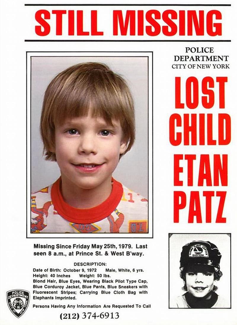 Amber Alerts and Missing Children Cases Updates: Etan Patz ...