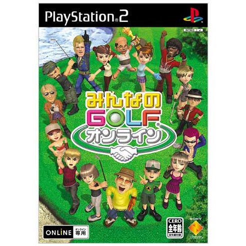 [PS2]Minna no Golf Online[みんなのGOLF オンライン ] ISO (JPN) Download