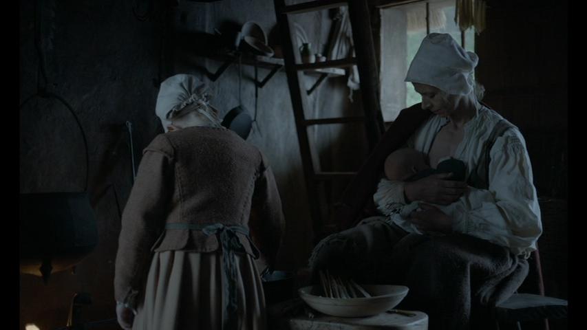 Kate Dickie Breastfeeding