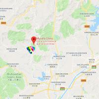 Geolocalización en Google Maps de El perro arcoíris sonríe en Cice en China.