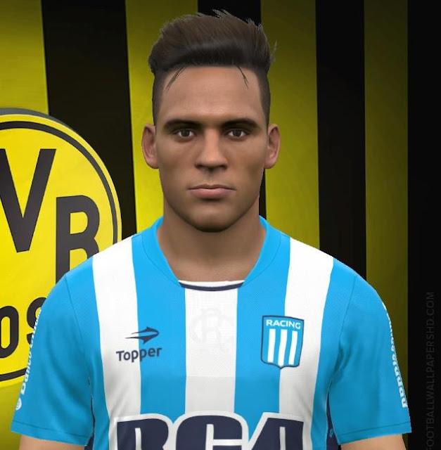 Lautaro Martinez Face PES 2017