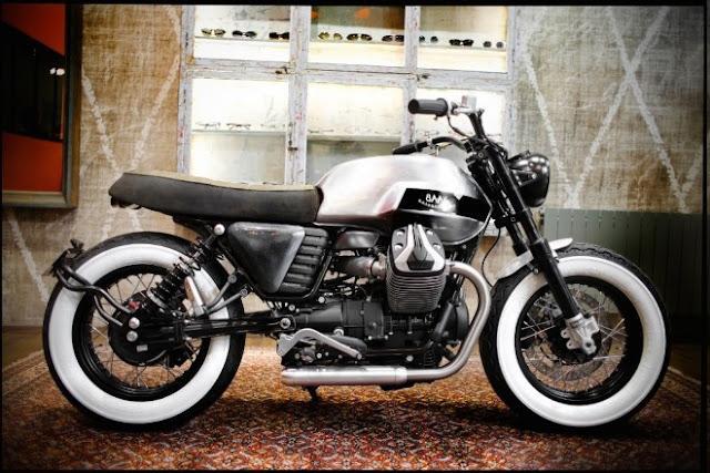 BAAK Motorcyclettes Moto Guzzi V7 Bobber