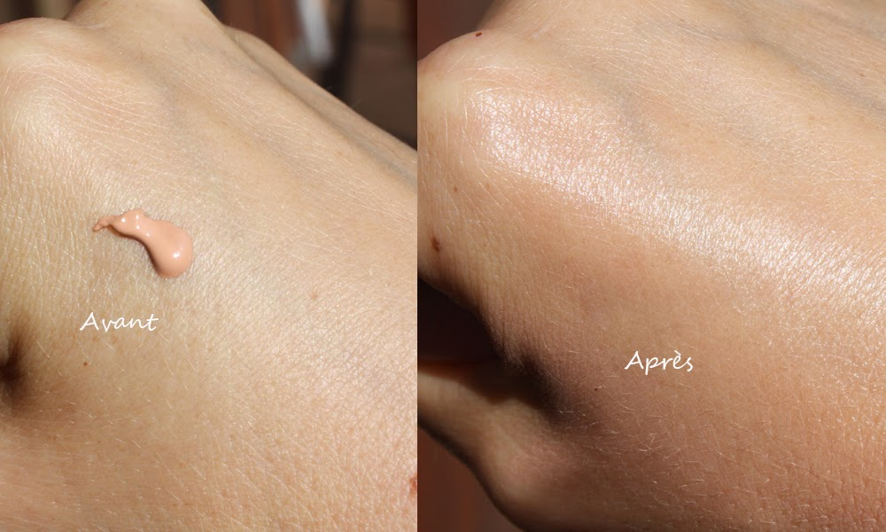 Crème solaire teintée d'Avène haute protection
