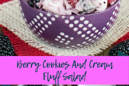 Berry Cookies And Cream Fluff Salad