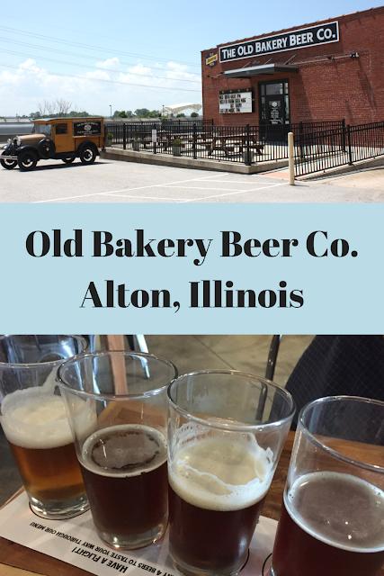 Visiting a local maker at Old Bakery Beer Co in Alton, Illinois