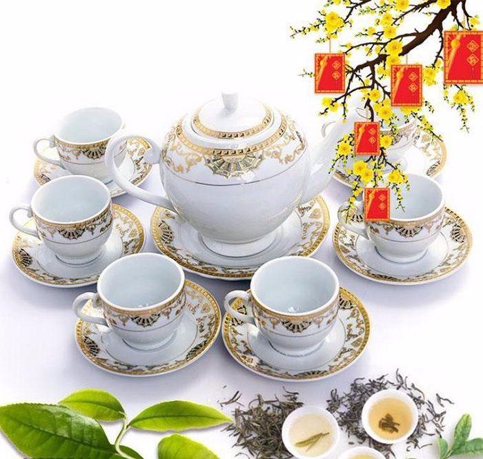 Bộ bình trà tặng mẹ chồng