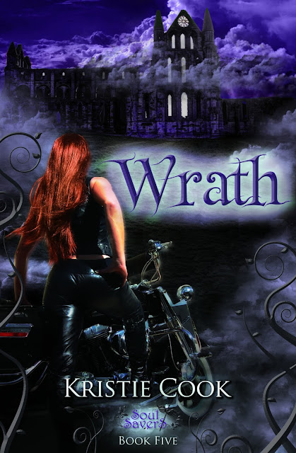 Cover Reveal: Wrath (Soul Savers 5) by Kristie Cook