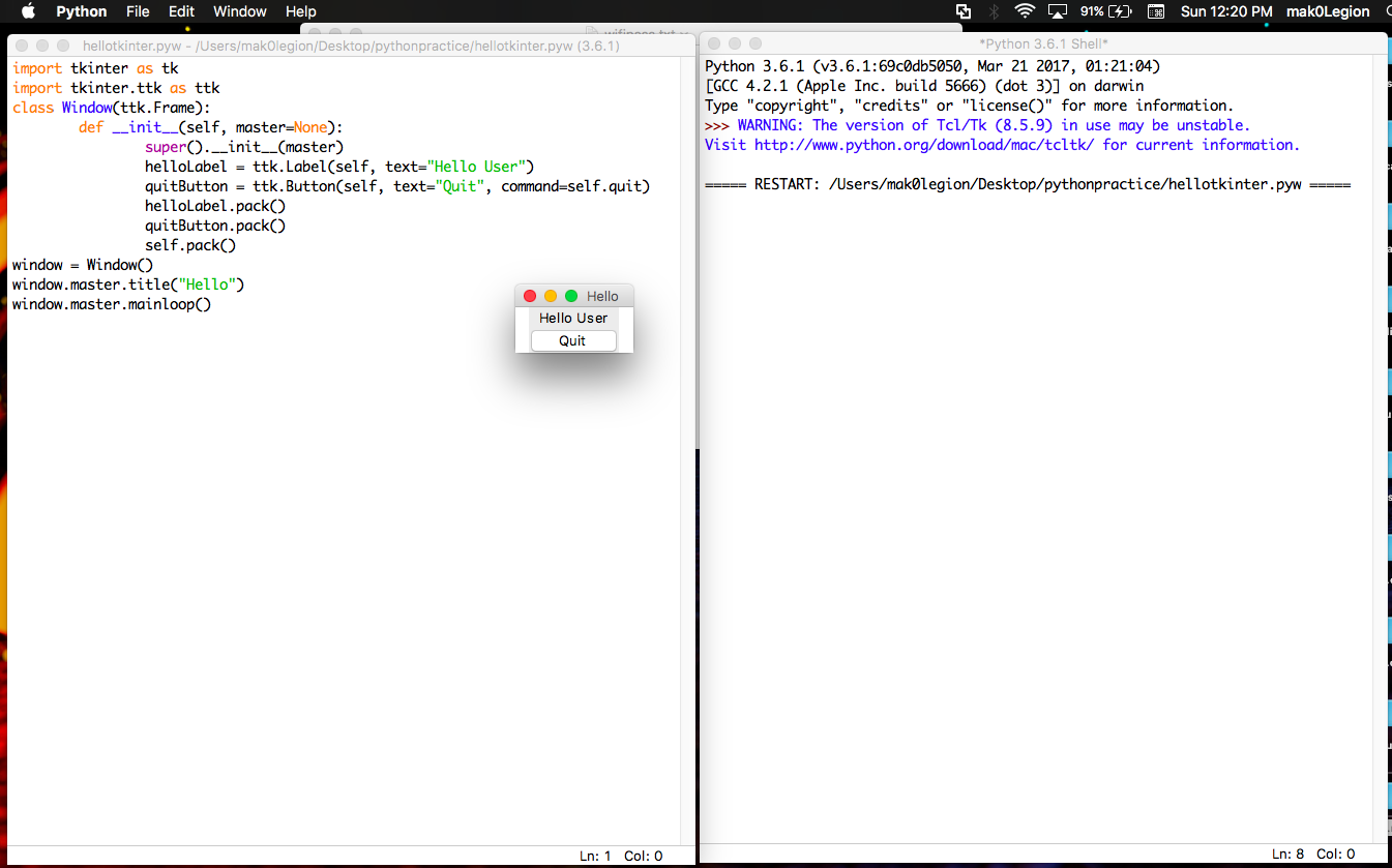 The very Dialog BOX using Tkinter in Python ~ NOOBLOOPS