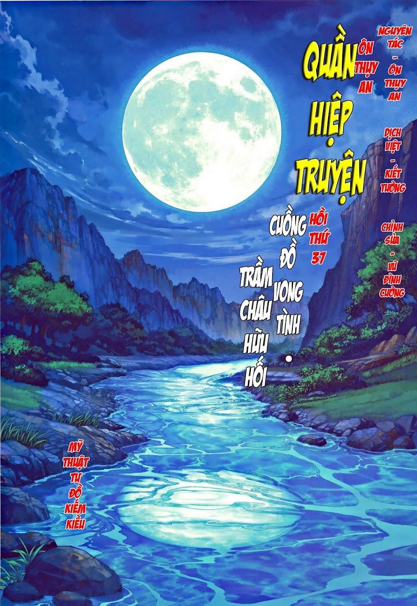 Ôn Thụy An Quần Hiệp Truyện chap 37 trang 2