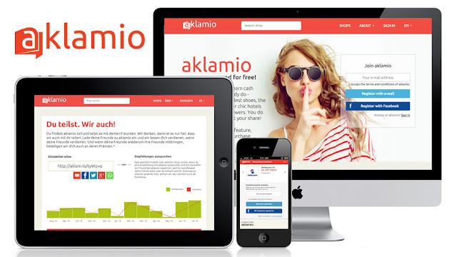 Aklamio, gana dinero con tus compras y con las recomendaciones