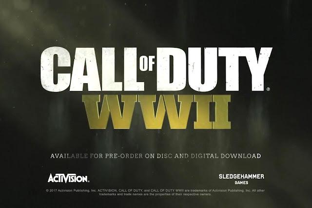 call of duty world war 2 reveal