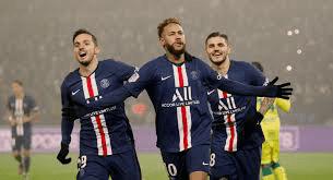 اهداف مباراة باريس سان جيرمان ونانت (2-1) الدوري الفرنسي