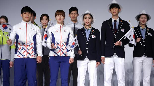 Kostum Pembukaan Korea Selatan di Olimpiade RIO 2016