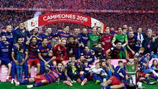 Barcelona Juara Copa del Rey Spanyol