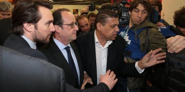 Hollande hué et insulté au Salon de l'Agriculture