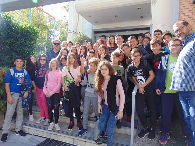 """Εκδρομή στην Αθήνα για τους μαθητές του  """"Νέου Σχολείου"""""""