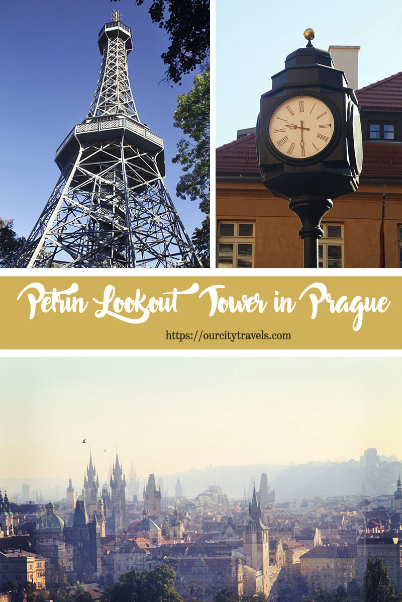 The Petrin Lookout tower  is a 60 metre high steel framework that resembles the Eiffel tower albeit smaller and has a different structure. Despite, it being situated on a hill gives it a higher altitude than the Eiffel tower.