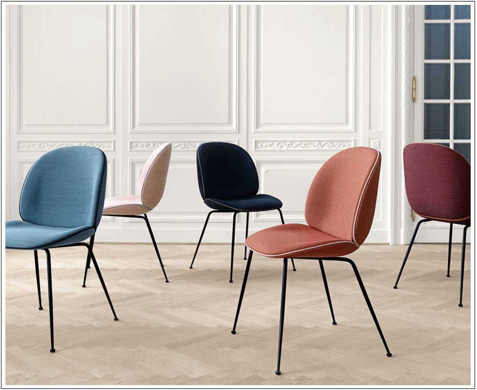 Gubi, Flinders, Interior, Inspiration, Beetle, Chair, Paris, Deco