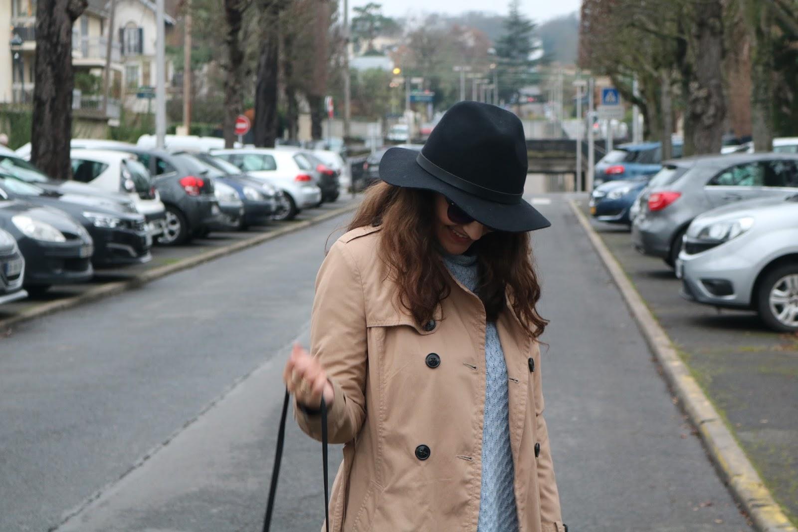 blog blogger blogging lifestyle mode fashion idées tenue chapeau bottes à talons missguided réussir son blog comment trouver de belles pièces pas cher s'habiller pas cher habits biens pas chers look chapeau